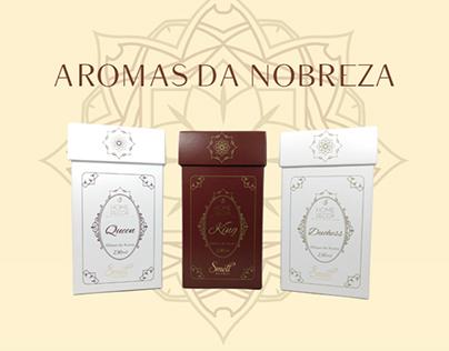 Embalagem - Aromas da nobreza