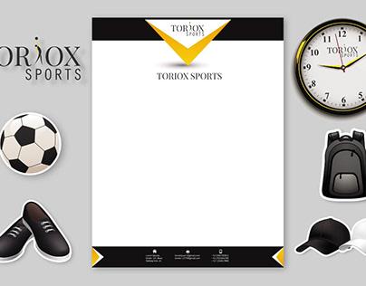 Sports Stationary and Branding Printable Design