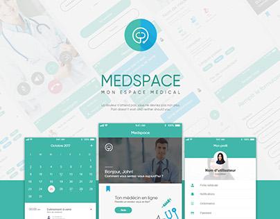 App design | Medspace - 2017