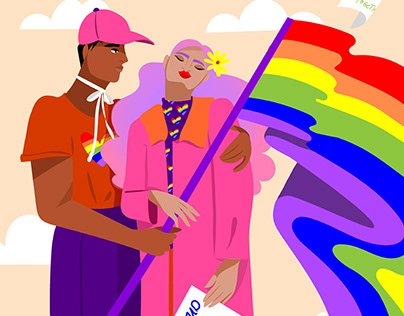 Fight for equality Illustration