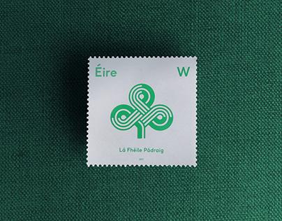 St. Patricks Day Stamp