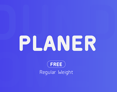 Planer - Type Family & FREE Weight