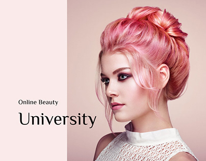 Online Beauty University Website