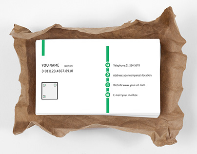 General simple business card template