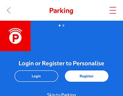 Dubai Drive - Parking Service Dashboard Animation