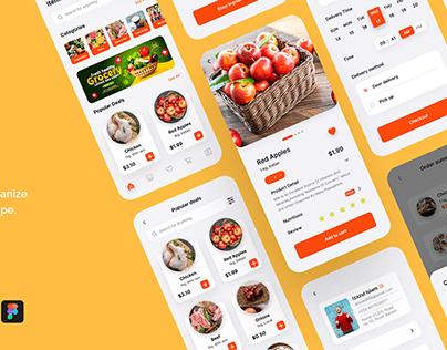 Grocery US App Case Study