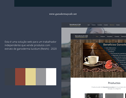 GANODERMA&CAFE - WEBSITE