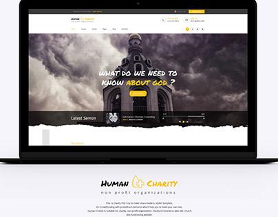 NonProfit Landing page