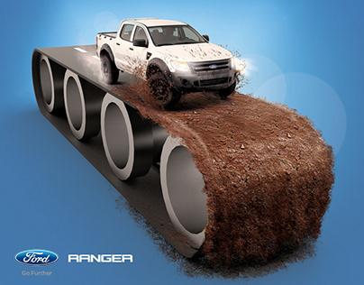 FORD RANGER - Fabricada para caminos que no lo están