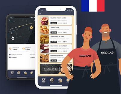 Ui Digital Bakery App