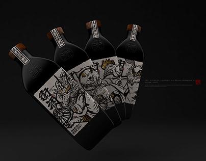 【津门神兽·天津卫酒】白酒包装 Liquor Packaging