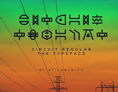 Circuit Free Typeface