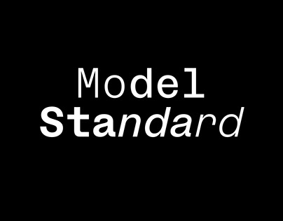 ModelStandard Typefaces