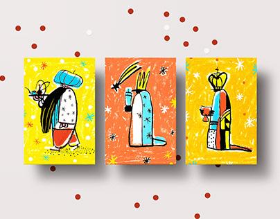Christmas postcards 2020