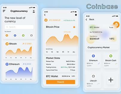 Coin Base Application Design