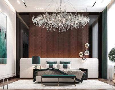 Colorful Master bedroom | Dubai!