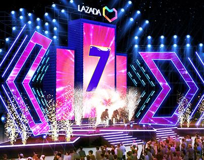Lazada 7th Birthday event