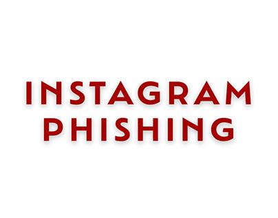 Awareness Advert: Instagram Phishing