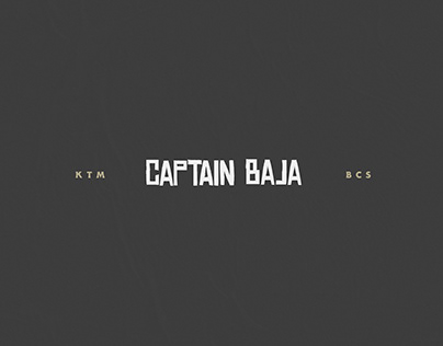 Captain Baja - Brand Guide