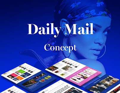Daily Mail Redesign Concept