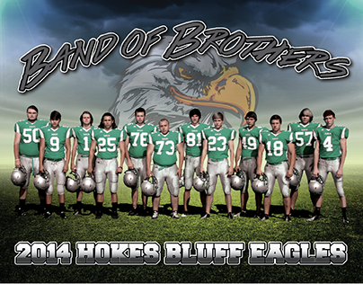Covers for Hokes Bluff 2014 Football Media Guide