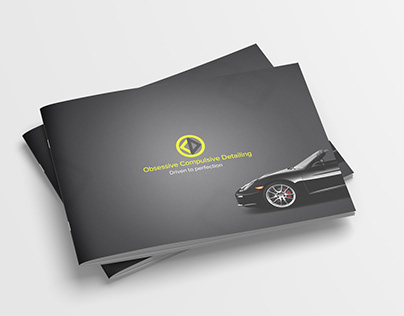 Car Spa Brochure-Print Design