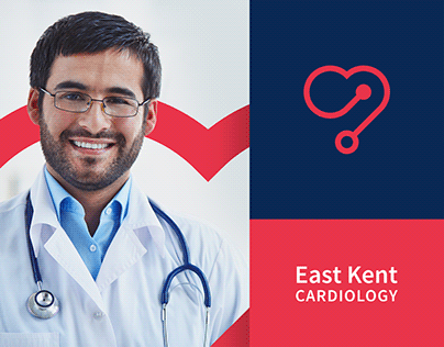 East Kent Cardiology - Brand IdentityDesign