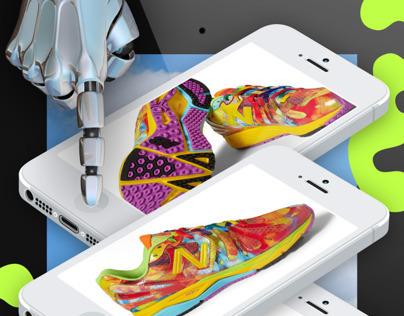 iPad Fashion Story for Bullett Magazine