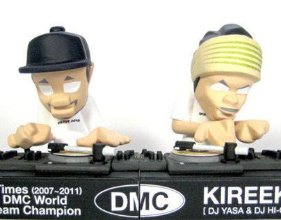 """5 Times DMC World Team Champion """"KIREEK"""" figure"""