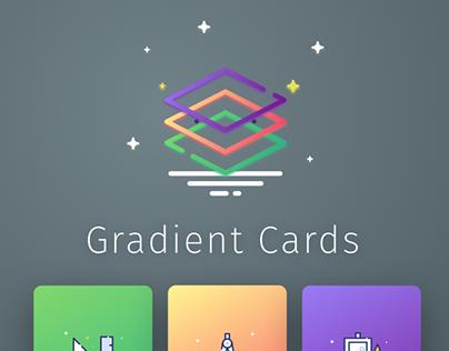 Gradient Cards