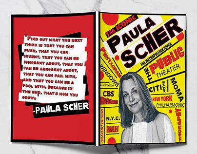 Paula Scher Magazine