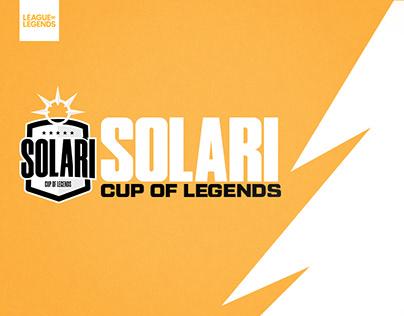 SOLARI CUP OF LEGENDS - Desafio EDB