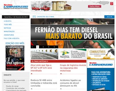 Projeto Revista Caminhoneiro