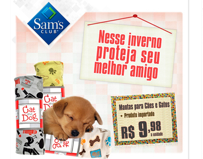 Sam´s Club - E-mail marketing e Banners