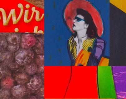 The Florentine Hat // Collage