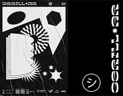 GerillAR – Poster Exhibition Identity