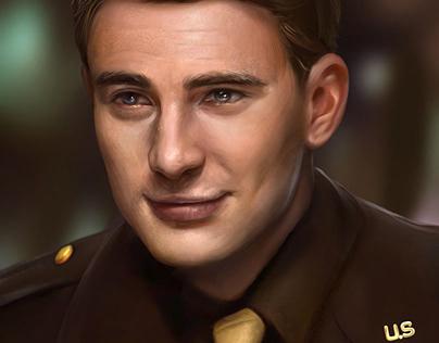 Captain America - Steve Rogers Portrait