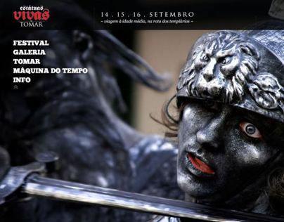 Living Statues Festival - Tomar