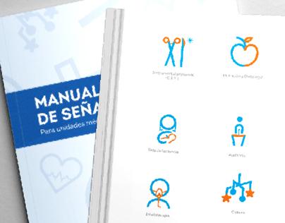 Secretaría de Salud del Edo. de Guanajuato: Señalética