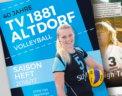 TV 1881 Altdorf Volleyball magazines