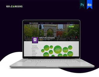 UI/UX   101 Careers   University Page