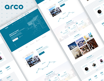Arco- an Architecture Agency Website
