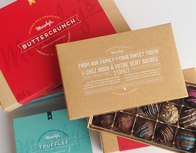 Murphy's Confection Collection Packaging