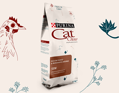 Concept Project - Cat Chow Kitten Packaging