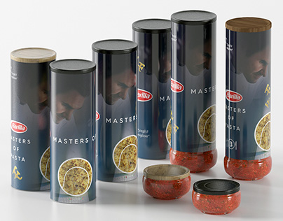 Packaging design for the Barilla competition