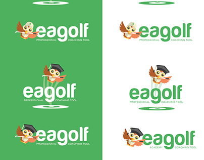 Project Logo Eagolf V2