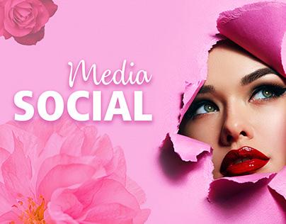 Butterfly Beauty Clinic Social Media Designs