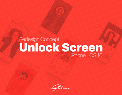 Iphone Unlock Screen Redesign Concept