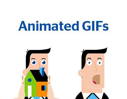 BBVA - ANIMATED GIFs