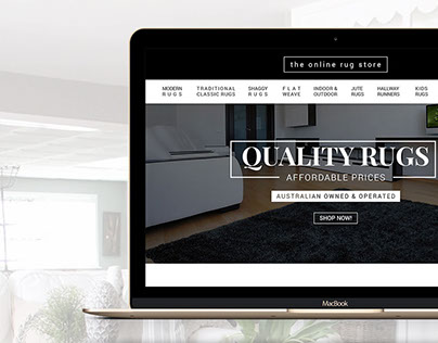 The Online Rug Store - WooCommerce Website